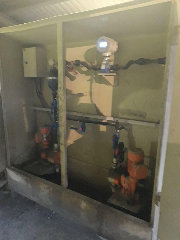 Lắp cảm biến đo lưu lượng AMF301 cho nhà máy ximang